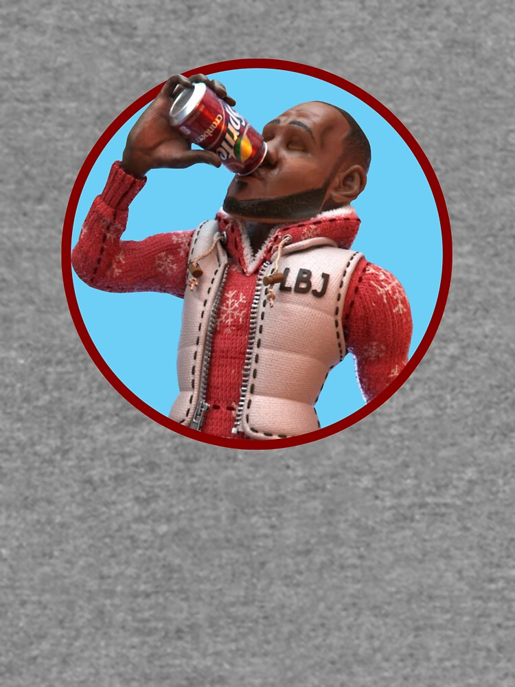 Lebron James Cranberry Sprite Meme Lightweight Sweatshirt By
