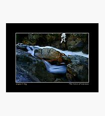 Colors of Livermore Falls Poster Photographic Print