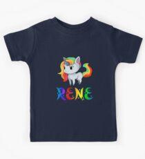 Rene Unicorn Kids Tee