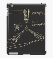 Flux Capacitor Drawing - Light iPad Case/Skin