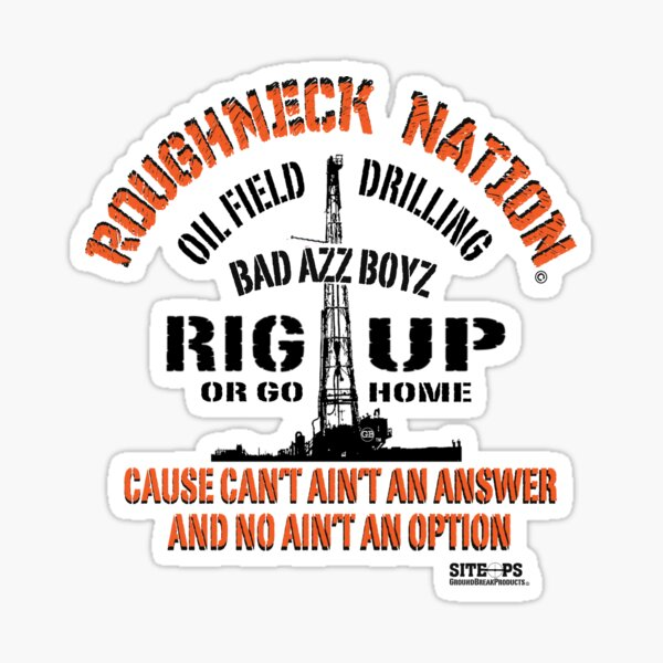 Rig Up Bad Azz Boyz Sticker
