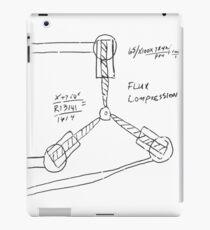 Flux Capacitor Drawing - Dark iPad Case/Skin