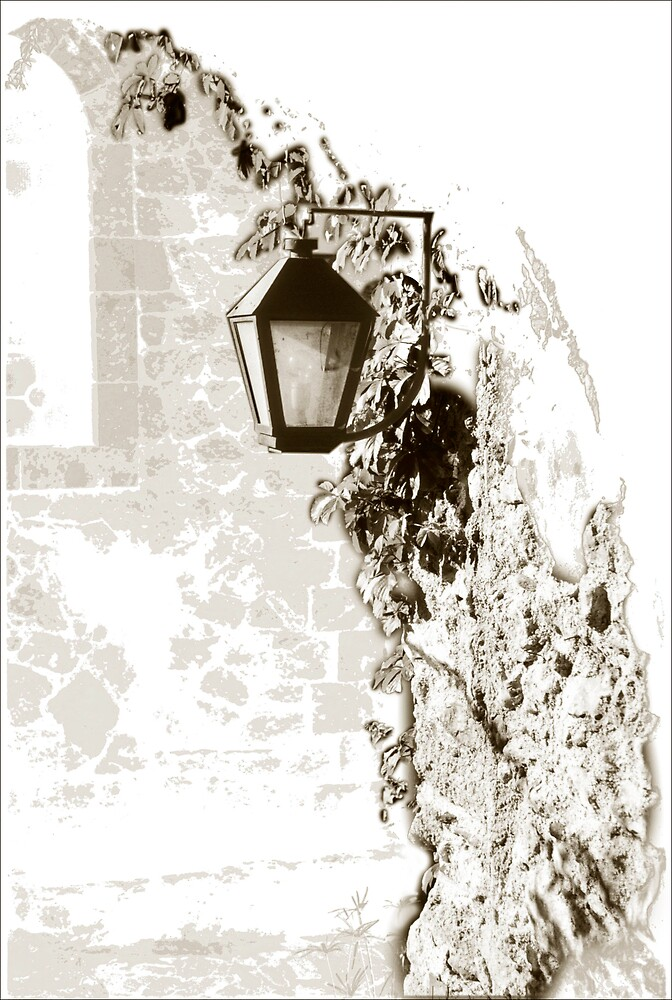 Lamp Monemvasia by duncananderson