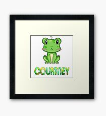 Frosch Courtney Framed Print