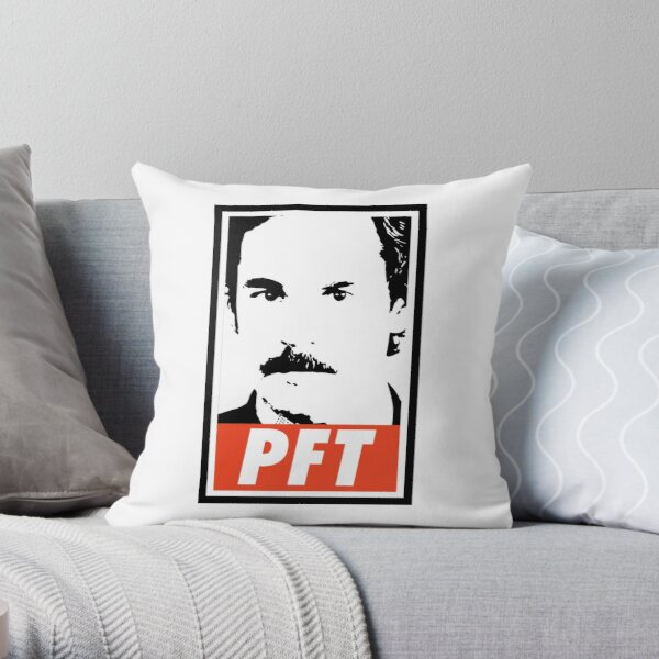 """New OBEY // SHEPARD FAIREY /""""FACE /"""" throw PILLOW 20/"""" x 20/"""" BLACK Giant"""