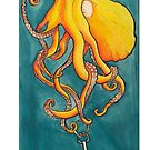 Octopus with anker by Shadow2142