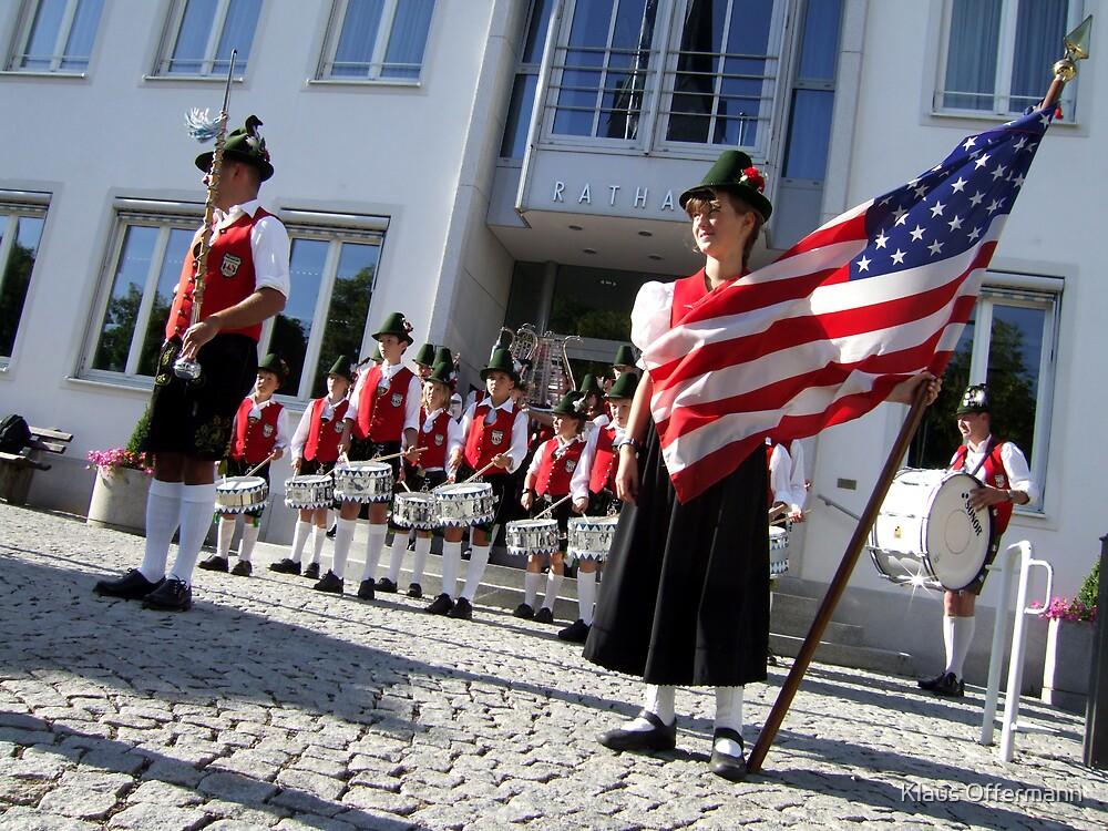 Bavarian-American friendship by Klaus Offermann