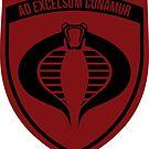 Cobra Military Badge by inexhale