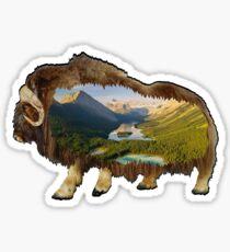 The Wild Within Sticker