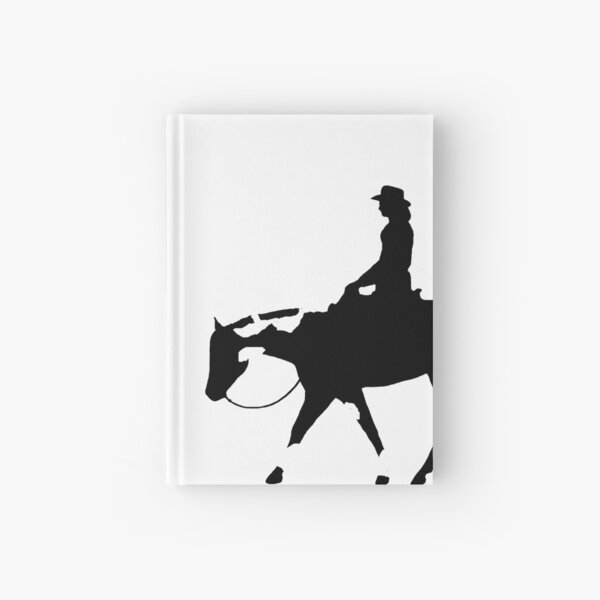 BIG - Paint Western Pleasure Horse Female Rider Hardcover Journal