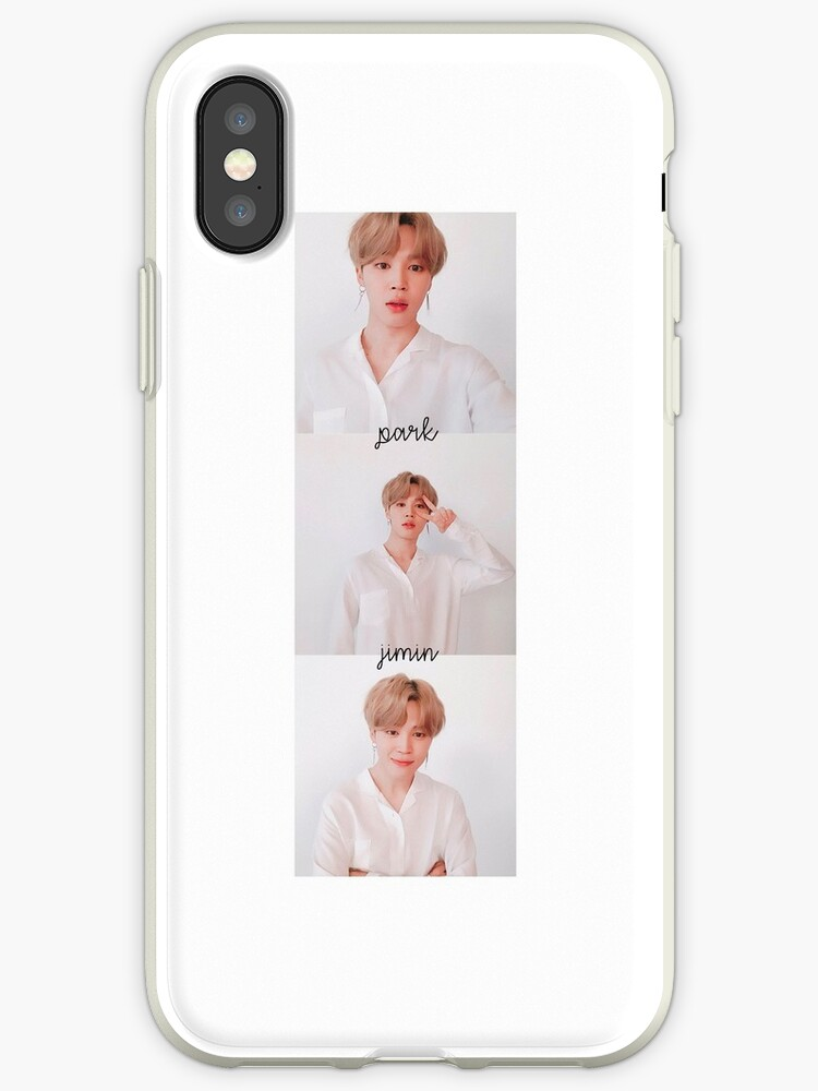 separation shoes 58a74 e3250 '[BTS] Park Jimin cute' iPhone Case by bigbang-jpg