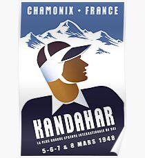 Chamonix, France, Ski Poster Poster