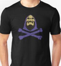 Skeletor & gekreuzte Knochen Slim Fit T-Shirt