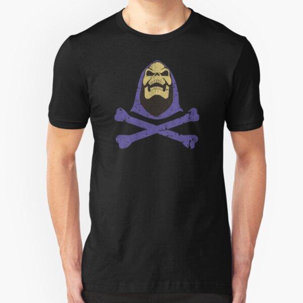 Skeletor & Crossbones Slim Fit T-Shirt