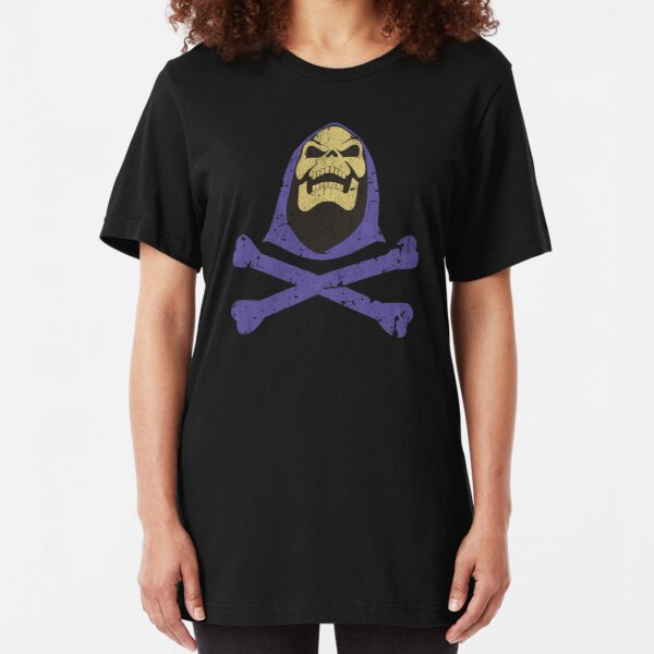 Skeletor & Crossbones Slim Fit T-Shirt