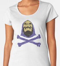 Skeletor & Crossbones Women's Premium T-Shirt
