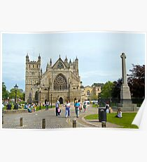Cathedral St. Peter in Exeter Poster