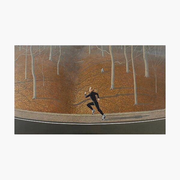 Autumn Runner Photographic Print