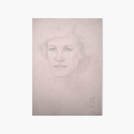Olga Art Board Print