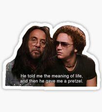 Leo and Hyde Sticker