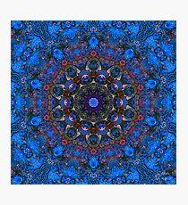 Royal Blue Photographic Print