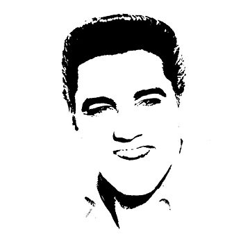 Elvis presley silhouette by chris2766
