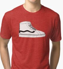 High Top Vans Tri-blend T-Shirt