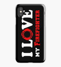 I Love my Firefighter (w/ red) iPhone Case