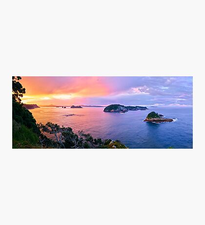 Coromandel Coast Sunset Photographic Print