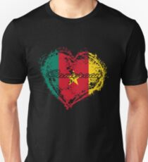 HOME ROOTS COUNTRY GIFT LOVE Cameroon PRESENT  Unisex T-Shirt