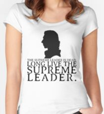 Supreme Leader Women's Fitted Scoop T-Shirt
