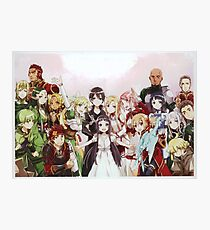 SAO familly Photographic Print