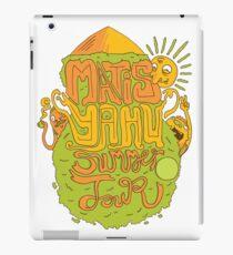 Matisyahu Summer Tour iPad Case/Skin