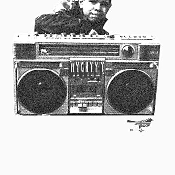 Ghetto Blaster BW by JOSH75