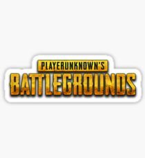 PUBG logo Sticker