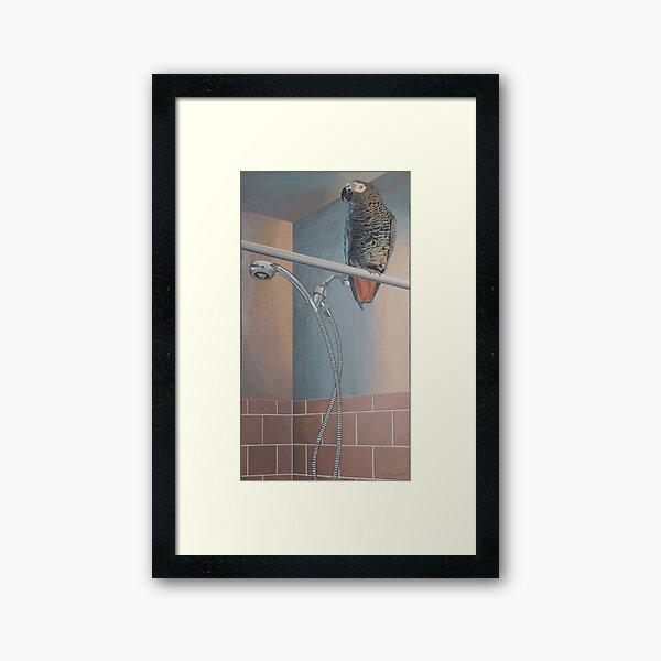 Cinder Framed Art Print