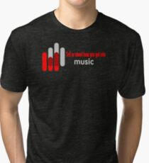 MOST POPULAR CY313 Tell Us About How You Got Into Music Best Product Tri-blend T-Shirt