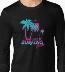 Surfing Vietnam Long Sleeve T-Shirt