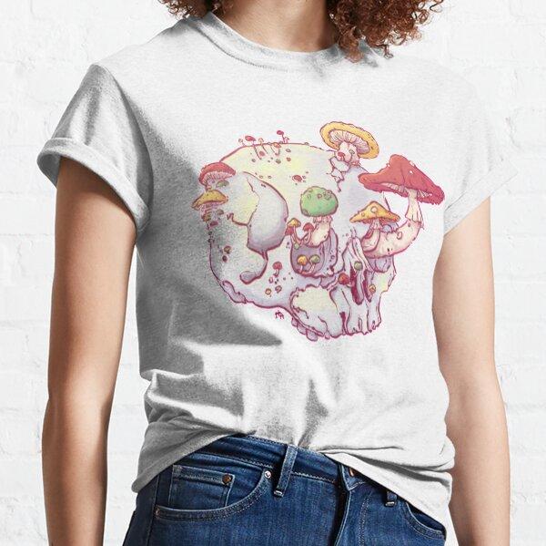 Skull No.1 // The Mushrooms One Camiseta clásica