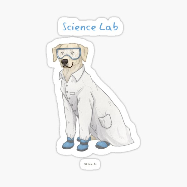 Science Lab Sticker
