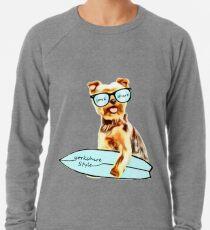 mon Yorkie  Ramen chien  Lightweight Sweatshirt