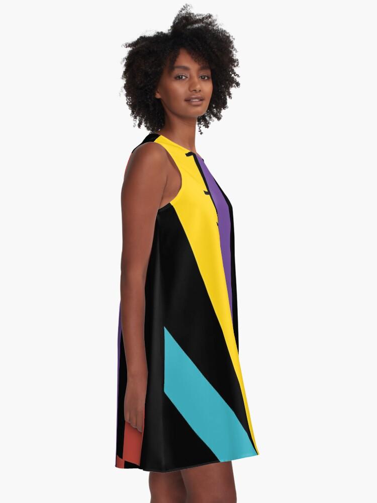 Alternate view of Test Strip A-Line Dress