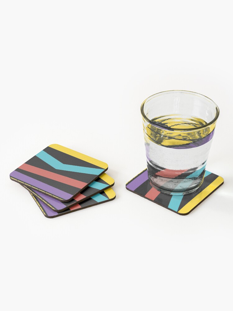 Alternate view of Test Strip Coasters (Set of 4)