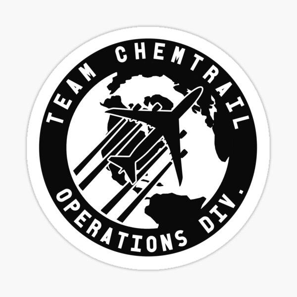Team Chemtrail Sticker Sticker