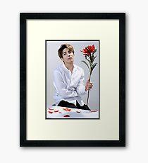 Jong Hyun Flower Framed Print