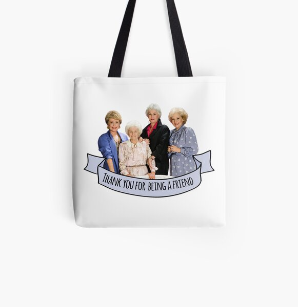 thank you for being a friend All Over Print Tote Bag