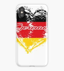 HOME ROOTS COUNTRY GIFT LOVE Germany PRESENT  iPhone Case/Skin