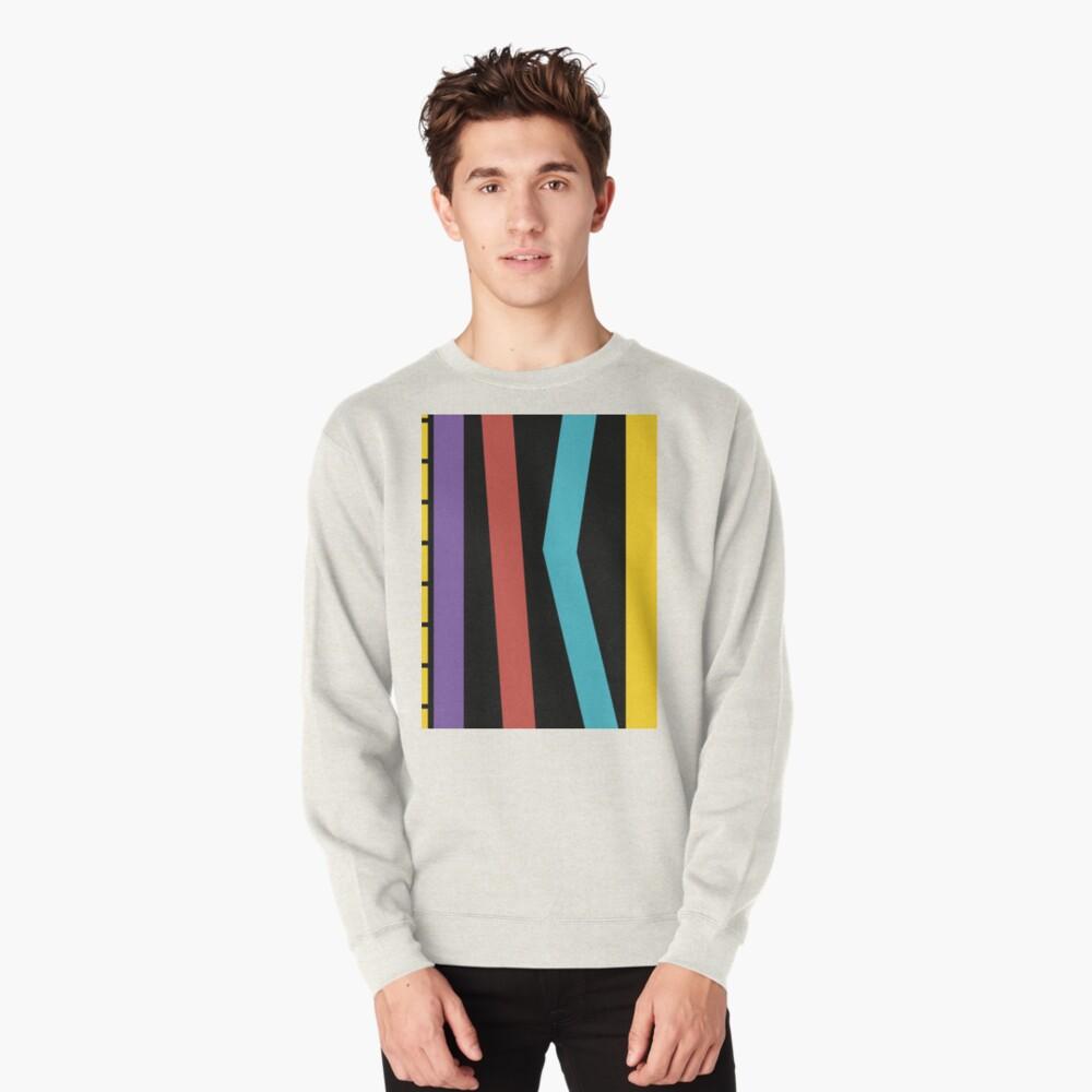 Test Strip Pullover Sweatshirt