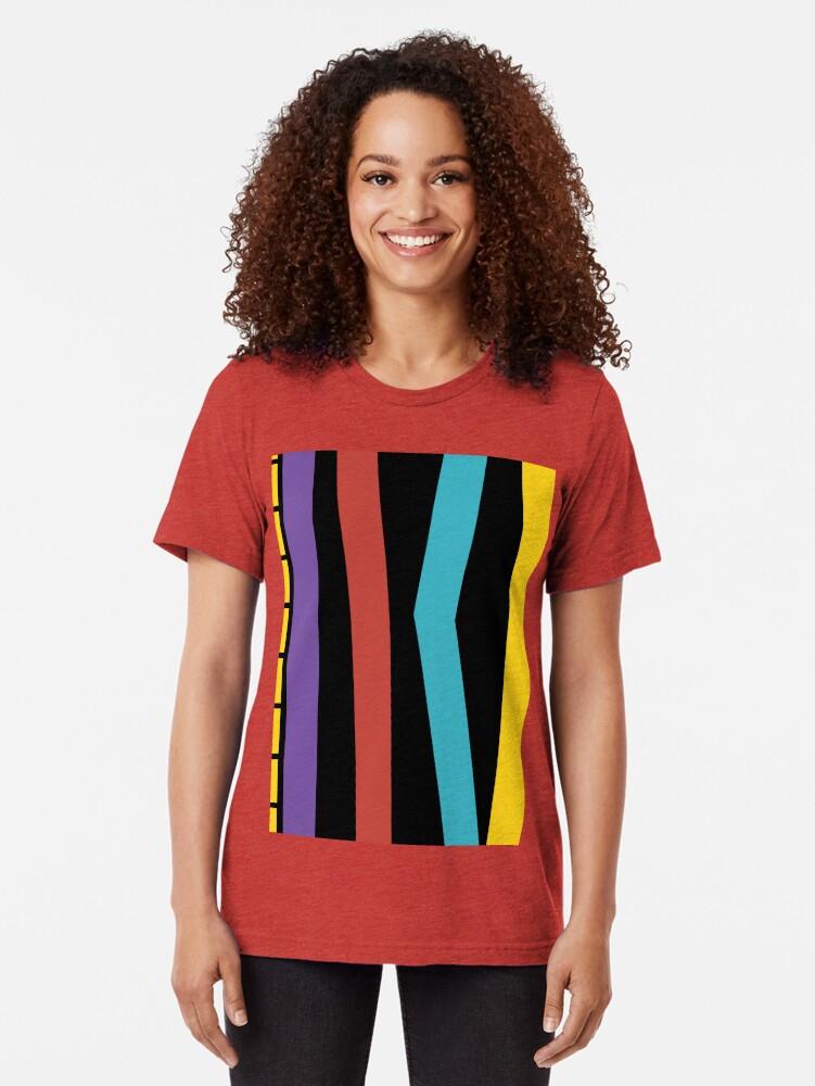 Alternate view of Test Strip Tri-blend T-Shirt