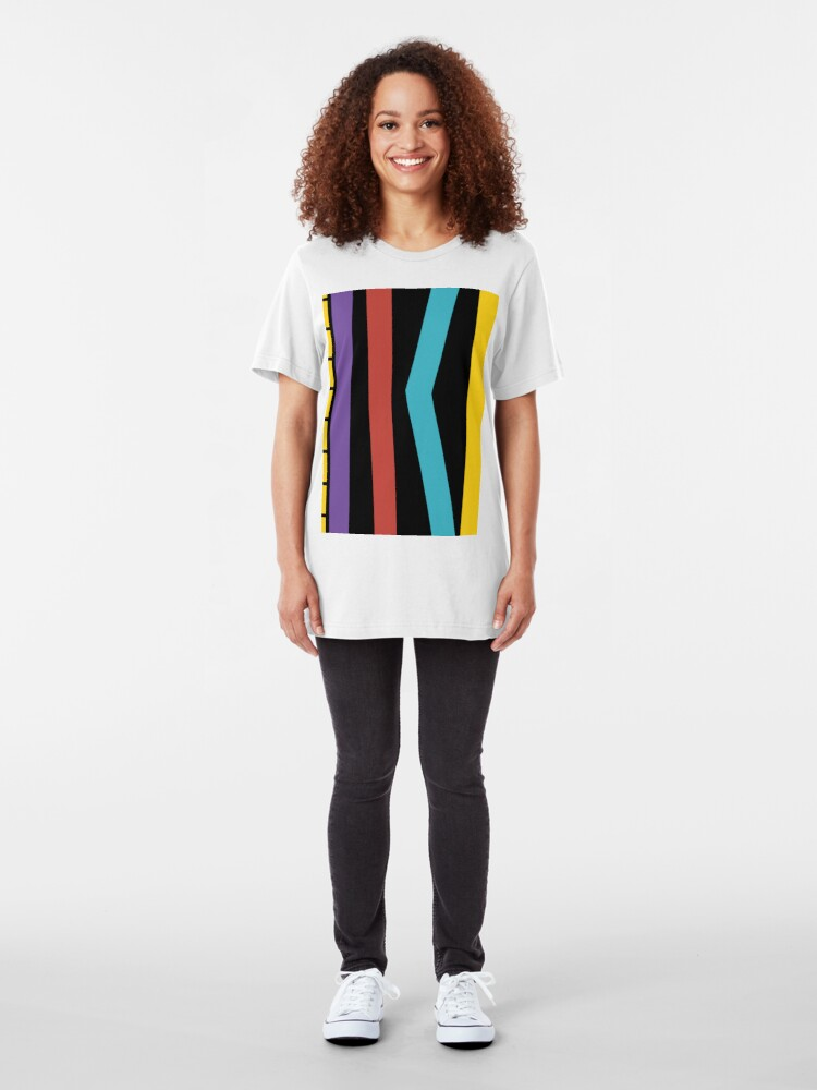 Alternate view of Test Strip Slim Fit T-Shirt